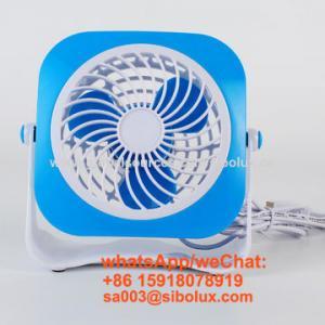 Quality 4 inch electric plastic mini portable USB li-ion rechargeable fan/Ventilador USB/kids gift for sale