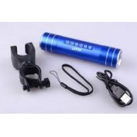 Quality Portable battery powered emergency mobile phone charger USB 2.0 for traveling, fishing for sale