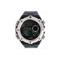 Quality Large Face Digital Watch Hourly Chime PU Electronic Watches For Man for sale