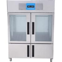 Quality Commercial Upright Fridge , Meat Display Chiller GN1410TN/MDG for sale