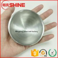 2016 new design aisi 304 stainless steel half ball hollow ice cream mold