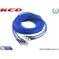 4 Cores Armored Fiber Optic Patch Cord ST to ST Rodent Resistant