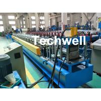 Quality PLC Control System Cold Roll Forming Machine For Making Rainwater Gutter Roll Forming Machine for sale