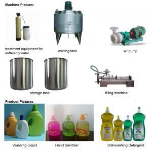 Buy Liquid Soap (Detergent) Production Line, Liquid Soap Making Machines,Liquid at wholesale prices