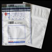 Quality Opaque A3/A4 Valuables Bag with Tamper Evident Tape to Avoid Being Stolen in Process of Deliver for sale