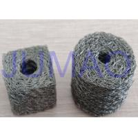 Quality Soft Monel Knitted Mesh Filters Single Strand Wire Double Round With A Fin for sale