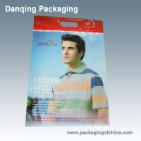 Best Clothes Packaging Three Side Seal Bags With Clear Window Consist Of PET/NY/PE wholesale