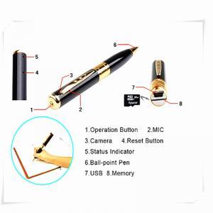 Quality mini pen hidden micro camera mini dv dvr video camera  spy camera pen for sale