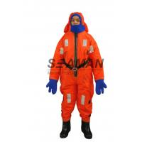 Quality Polyester Flotation Suit Marine Insulated Immersion Suit For Survival At Sea for sale