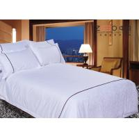 China Single / Double Bed Linen Sets With 115GSM 250TC And 50% Cotton on sale