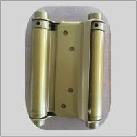 Quality Modern Design Spring Loaded Hinges Brass Plated  For Residential House for sale