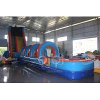 Buy cheap 61FT Wave Inflatable Slip N Water Slide from wholesalers