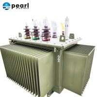 Quality Fine Appearance Oil Immersed Transformer With Conservator ONAN/ONAF Cooling for sale