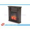 Custom Design MDF Home Decor Fireplaces Solid Wood Veneer / Paint Finished
