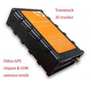 Quality WCDMA / 3G Garmin GPS Vehicle Tracking 900Mah Polymer Battery Low Power Alarm for sale