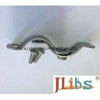 Galvanized Carbon Steel Standoff Pipe Clamps , Metal Pipe Clamps Width 20-30mm