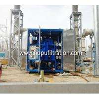 Quality onsite working transformer oil treatment plant, insulation oil purification equipment, vacuum drying system with cover for sale