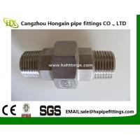 Quality BSP / NPT Threaded Screwed Stainless Steel Pipe Fitting Union / Elbow Fitting for sale