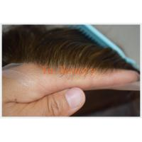 China TOUPEE Swiss lace human hair mens toupees,100% Virgin Remy hair TOUPEE on sale