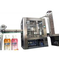 Quality Vial Liquid Beverage Filling Machine , Fully Automatic Plastic Bottle Filling And Sealing Machine for sale