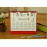 Best 2013 Year Custom Calendar Printing 14 Pages UV Varnish wholesale