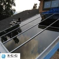 Quality Skylight canopy stair handrail balcony balustrade architectural safety glass processing fa for sale
