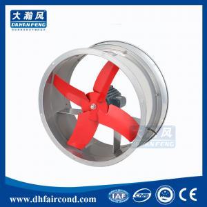Quality DHF B series pipeline axial fan/ blower fan/ ventilation fan for sale
