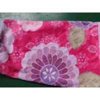 Quality Weft knitted flower printed 30*60 microfiber cleaning cloth , microfiber home usaging towel for sale