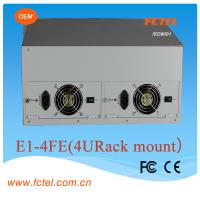 Quality interface converter Network bridge of E1 to ethernet protocol converter for sale