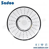 Best screen touch, waterproof wireless bluetooth stereo speaker telephone led music head shower head wholesale