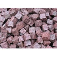 Quality Granite Outdoor Natural Paving Stones For Garden / Patio Red Porphyry for sale