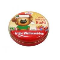 Quality Wholesale special Round Tin with slip lid for sale