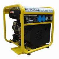 Quality Diesel Generator with 3.6L Fuel Capacity, 24Ah Battery Capacity and 12V DC, 8.3A Output Voltage for sale