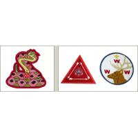 Quality Cartoon embroidery patch for kids garment clothing for sale