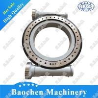 China HSE25 china lifting crane slewing drive supplier customized connecting rod type bracket tracking slewing drive on sale