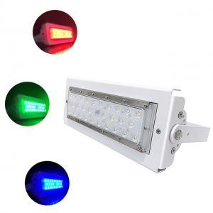 Quality Die-cast aluminum IP66 50 W RGB LED Flood Light , 20º 60º 90° Beam Angle for sale