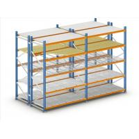Quality Long Span Steel Light Duty Shelving For textile,leather storage for sale