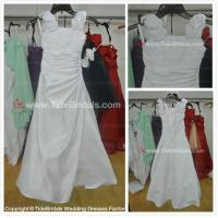 China Satin Hand made flowers flower girl dress#LT2286-flower girl on sale