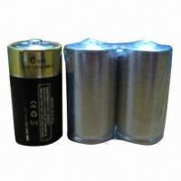 Quality Alkaline Batteries with 1.5V Voltage, without Label for sale