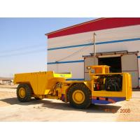 Quality 6.0 cubic meter Load Haul Dump Mining Utility Vehicles +/-40° Turning angle for sale