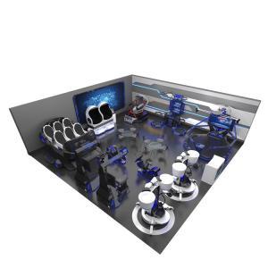 Quality Small Business VR Theme Park Equipment 9D 10D Cinema Egg Simulator for sale
