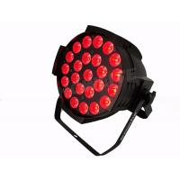 Quality Colorful RGBW 24*10W  4 In 1 LED Par Wash Lights For Nightclubs 8CH Channel LED Par Can Wash indoor Light for sale