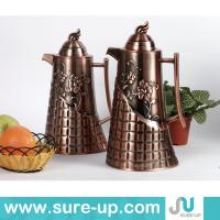 Quality arabic brass coffee pot, middle east water jug glass refill for sale