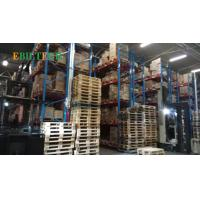 Quality Metal Teardrop  VNA Racking System ,  Yellow  Warehouse Rack Numbering System for sale