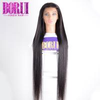 China 10A straight Unprocessed Brazilian Virgin Hair Full Lace  Human Hair Wigs on sale