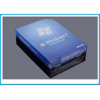 32 Bit Full Version Windows 7 Professional Retail Box DVD With 1 SATA Cable