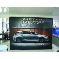 Quality 20Ft Formulate Straight Tension Fabric Displays , exhibition display stands for sale