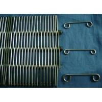 Buy Stainless Wire Ring Conveyor Belts,Metal Eye Link Belts,Pasteurizer Belts at wholesale prices