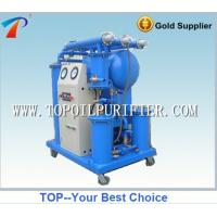 Quality Portable single vacuum transformer oil recycle machine (outdoor use),saving 20% power for sale