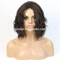 China Top 5A grade indian remy hair cheap men's wigs on sale